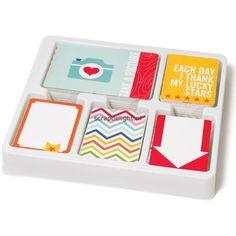 Project Life Core Kit; Honey Edition | Scrapdelight Scrapbookwinkel, de winkel voor al je scrapbook en card producten