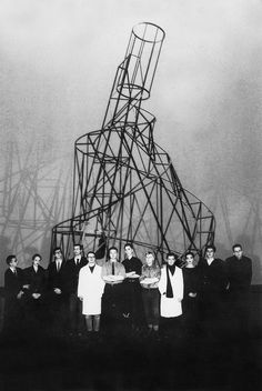 Tatlin - Monument to the Third International (1919-20 ) interesting but not recognizable, abstract