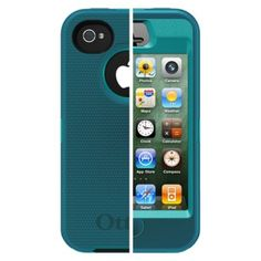 I'm learning all about Otterbox Defender Cell Phone Case for iPhone4/4S -Teal (77-18585P1) at @Influenster!