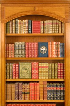 A wonderful collection rare leather-bound books
