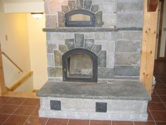 Stone Masonry Stove! With a pizza oven.  Killer!!!