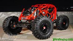 Tim Cameron Showtime Rock Bouncer powered by 4x4 Trucks, Cool Trucks, Cool Cars, Lifted Trucks, Carros Audi, Trophy Truck, Sand Rail, Go Kart, Rc Cars