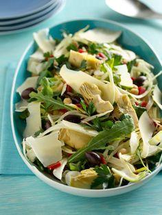 Antipasti Salad recipe from Food Network Kitchen via Food Network