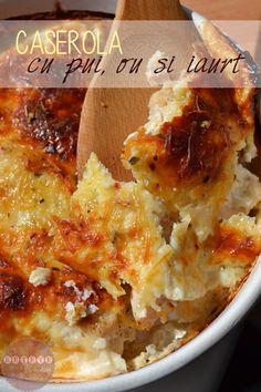 caserola-pui,-ou,-iaurt1 Dukan Diet, Lasagna, Macaroni And Cheese, Ethnic Recipes, Food, Lasagne, Mac Cheese, Mac And Cheese, Hoods