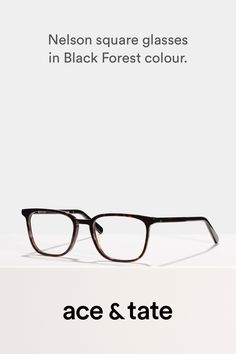 5f0760c234 Nelson - Square glasses - Black Forest - View More Forest View