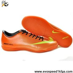 2013 Nike Mercurial Vapor IX IC Orange Yellow Football Boots On Sale