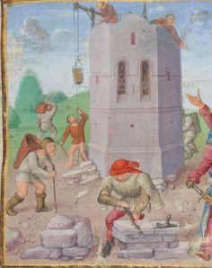 1° « Les Croniques que OROSIUS compila... »; 2° « Les anciennes Histoires des Romains »  Date d'édition :  1401-1500  Français 64  Folio 17r