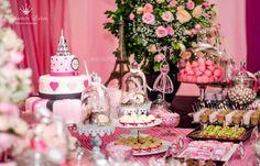 decoracao festa menina paris; decoracao aniversario paris