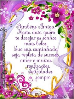 Portuguese Quotes, Congratulations, Happy Birthday, Cards, Happy Birthday Boyfriend, Magical Quotes, Powerful Quotes, Inspirational Quotes, Pretty Quotes