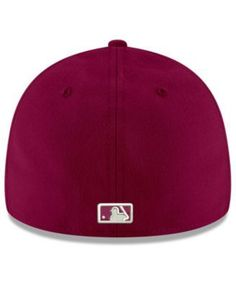 New Era San Francisco Giants Low Profile C-dub 59FIFTY Cap - Red 7 3/8