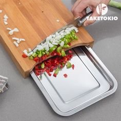 Bamboo chopping board with tray £22.99 free uk delivery worldwide shipping cool#gifts