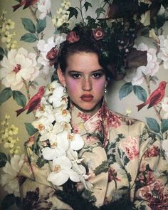 Molly Ringwald on the cover of Vanity Fair, 1984 : Sheila Metzner