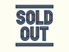 Sold Out by Richard Perez