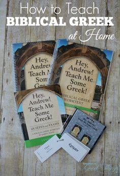 How to Teach Biblical Greek at Home | www.joyinthehome.com