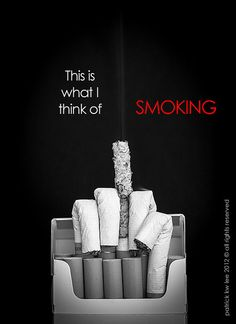 The middle-finger salute to smoking. by Patrick8Lee, via Flickr