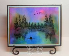 Peaceful by LindaB - Cards and Paper Crafts at Splitcoaststampers