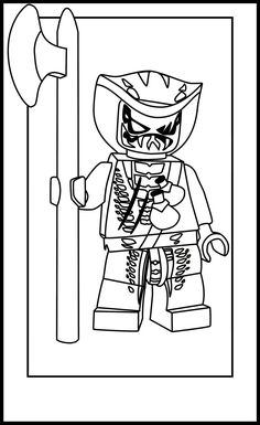 Kai Ninjago coloring pages for kids printable free Coloring