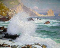 marine oil paintings: Paul von Spaun