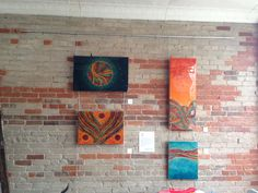 Art studio rentals for Toronto artists looking for an inspiring gallery space to exhibit their artwork. Artwork on display created by Gabrielle Lasporte.