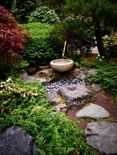 Japanese Garden of Portland stroll path by Jesse Schilling on 500px