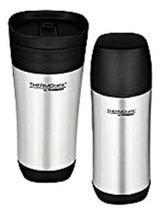 Stainless Steel Gift set 17oz Vacuum Insulated bottle,16oz Travel Tumbler Thermo #Thermos