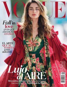 Andreea Diaconu by Gilles Bensimon for Vogue Mexico September 2016 Cover