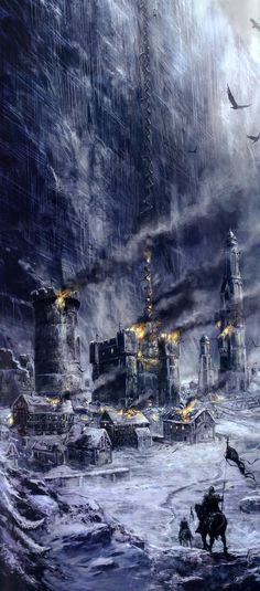 The Castle Black and the Wall by Didier Graffet