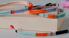 Thread-Wrapped Friendship Bracelets Videos | Tv How to's and ideas | Martha Stewart