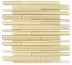 Cane Series Glass Tile - Bermuda Sand