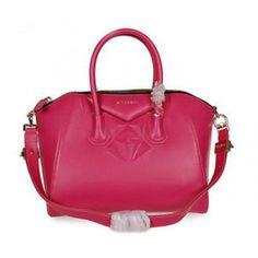 Givenchy Small Antigona Bags on Sale - Givenchy small diamond antigona nappa leather 9981S rosered