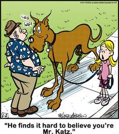 Dog Quotes, Animal Quotes, Dog Sayings, Funny Quotes, Cartoon Dog, Dog Cartoons, Funny Dogs, Cute Dogs, Bizarro Comic