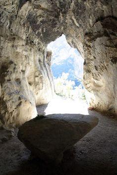 The most spiritual place I've ever been. A secret cathar cave-church near Ornolac-Ussat-Les-Bains called Bethlehem.