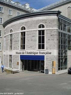 Photo of Museum of French America (Musee de l'Amerique Francaise) Quebec City: This museum tells the story of French exploration of (predating Plymouth and Jamestown) and immigration to Quebec. The architecture is lovely and the design of the exhibits is very creative, uses a lot of multimedia.This is a story that got left out of the American history books! Highly recommend.