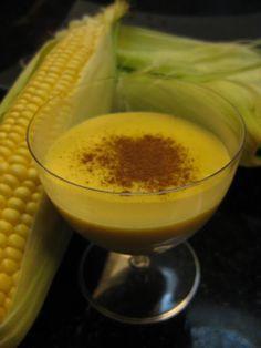 Mis recetas favoritas: Mazamorra de maíz