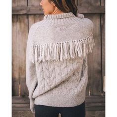 Fringed! (Photo by @rainboutiquefortcollins) #oddmolly #peaceandeverything #readysteadyturtleneck