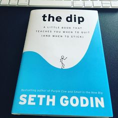 It's on to book #49 for the year, The Dip by Seth Godin.  I just finished reading Tribes by the same author. That book was amazing. It's a must read for aspiring leaders who wants to be a part of change.  What are you currently reading?  I'm looking for more books to add to my journey of 100 books in two years.  Share with me what you are currently reading!  Leaders are Readers, Readers are Leaders.