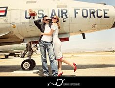 air force inspiration :) Air Force Pictures, Air Force Love, Military Photos, Military Love, Military Girlfriend, Engagement Photography, Engagement Session, Couple Photography, Wedding Engagement