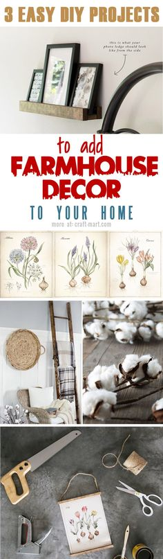 How can you add some farmhouse flair to your home without going overboard?  Use some Dried Cotton to make things look awesome. DriedDecor.com Let's start small! #farmhousedecor