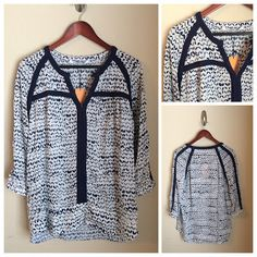 WANT Love Collective Concepts. Have other shirts like this and wear them all the time. I would wear any pattern! Size Medium would work.