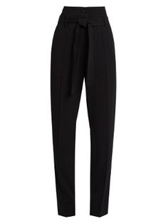 Espagny high-rise tapered-leg crepe trousers | Vanessa Bruno | MATCHESFASHION.COM US