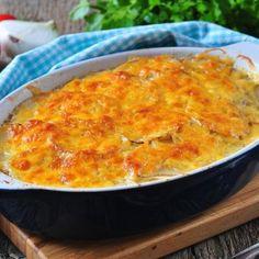 No-Fuss Cheesy Vegetable Casserole