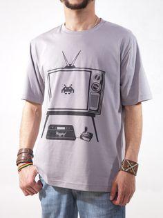 Camiseta Plugging Old School - Masculina.