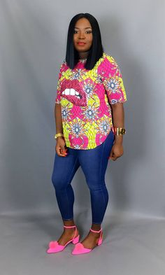 African print topAfrican clothingAfrican fabricAfrican African Print Dresses, African Print Fashion, Africa Fashion, African Wear, African Fashion Dresses, African Dress, African Style, Big Girl Fashion, 50 Fashion
