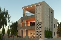 Modern Villa Design, Wood Facade, Strategic Planning, Next Door, Autocad, Traditional Design, Second Floor, Architecture Design, Design Ideas