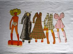 Mary Quant Daisy Doll Paper Dolls