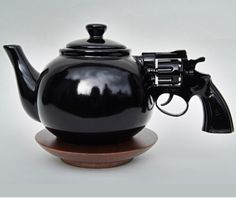 I want this! Make tea, not war!! :)