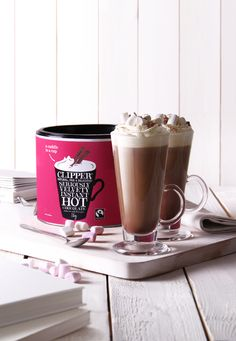 New Clipper hot chocolate Hot Chocolate Recipe Easy, Dairy Free Hot Chocolate, Chocolate Week, Chocolate Factory, How To Make Chocolate, Melting Chocolate, Clipper Tea, Teas, Cool Things To Make