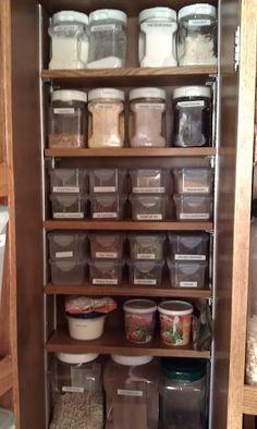 organizing.....Food Storage Style......