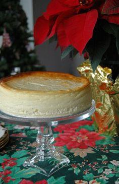 Fluffy-Crustless-Cheesecake
