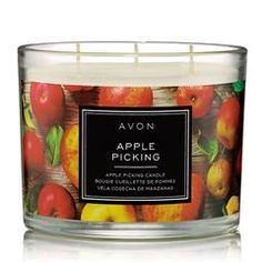 Apple Picking Candle - Autumn is in the air! Surround your senses with the fresh fragrance of apple picking and usher in the rich vibrancy of fall. Fall Candles, 3 Wick Candles, Scented Candles, Candle Jars, Candle Shop, Home Scents, Skin So Soft, Red Apple, The Fresh